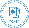 bitcoin poker betting icon